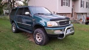 Supercharged /Lifted 1998 Ford Expedition