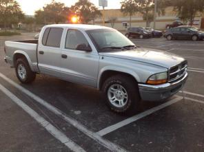 2004 Dodge Dakota four-door V8 - $4450