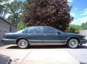 One Owner 1996 Chevrolet Caprice Classic